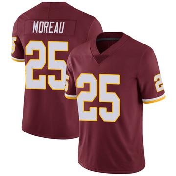 Youth Nike Washington Redskins Fabian Moreau Burgundy Team Color Vapor Untouchable Jersey - Limited