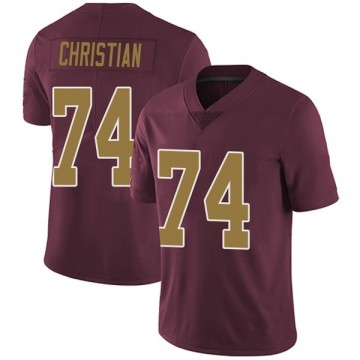 Youth Nike Washington Redskins Geron Christian Burgundy Alternate Vapor Untouchable Jersey - Limited