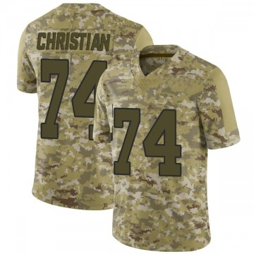 Youth Nike Washington Redskins Geron Christian Camo 2018 Salute to Service Jersey - Limited