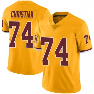 Youth Nike Washington Redskins Geron Christian Gold Color Rush Jersey - Limited