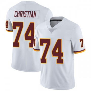 Youth Nike Washington Redskins Geron Christian White Vapor Untouchable Jersey - Limited