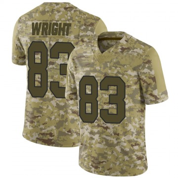 Youth Nike Washington Redskins Isaiah Wright Camo 2018 Salute to Service Jersey - Limited