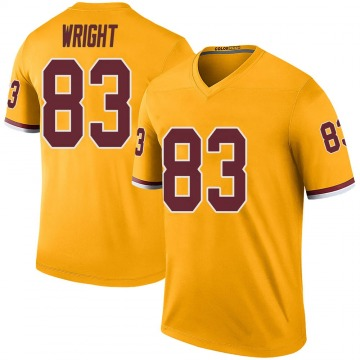 Youth Nike Washington Redskins Isaiah Wright Gold Color Rush Jersey - Legend