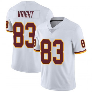 Youth Nike Washington Redskins Isaiah Wright White Vapor Untouchable Jersey - Limited