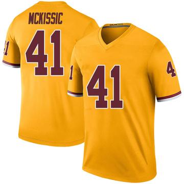 Youth Nike Washington Redskins J.D. McKissic Gold Color Rush Jersey - Legend