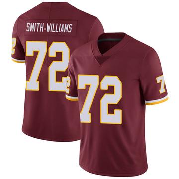 Youth Nike Washington Redskins James Smith-Williams Burgundy 100th Vapor Jersey - Limited