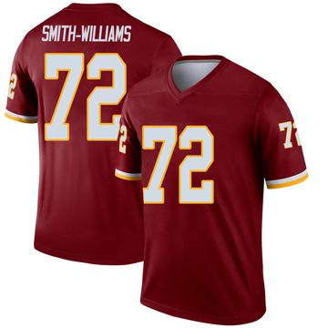 Youth Nike Washington Redskins James Smith-Williams Burgundy Jersey - Legend