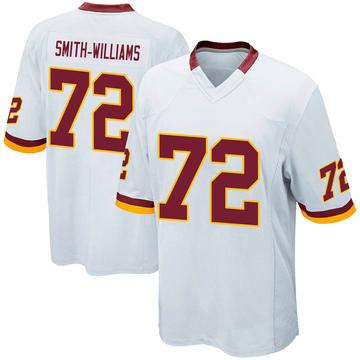 Youth Nike Washington Redskins James Smith-Williams White Jersey - Game