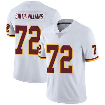 Youth Nike Washington Redskins James Smith-Williams White Vapor Untouchable Jersey - Limited