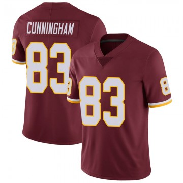 Youth Nike Washington Redskins Jerome Cunningham Burgundy 100th Vapor Jersey - Limited