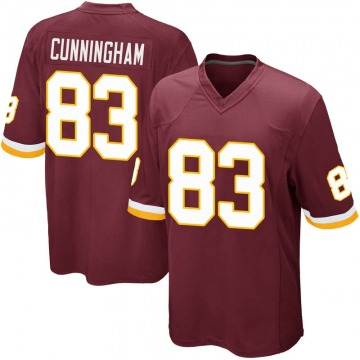Youth Nike Washington Redskins Jerome Cunningham Burgundy Team Color Jersey - Game