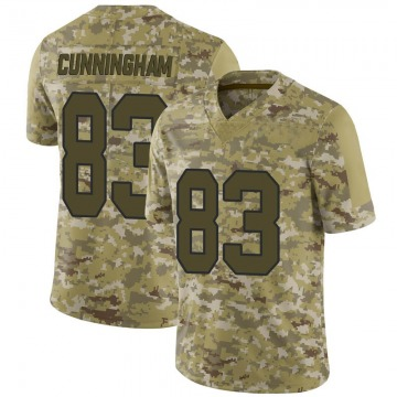 Youth Nike Washington Redskins Jerome Cunningham Camo 2018 Salute to Service Jersey - Limited