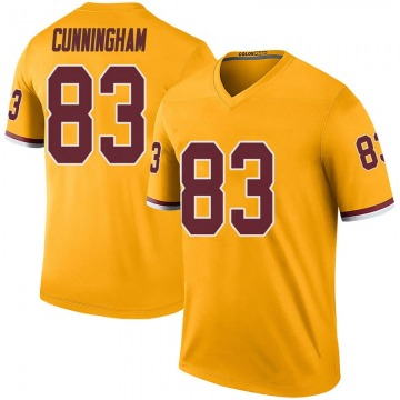 Youth Nike Washington Redskins Jerome Cunningham Gold Color Rush Jersey - Legend