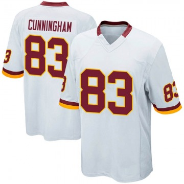 Youth Nike Washington Redskins Jerome Cunningham White Jersey - Game
