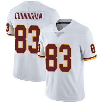 Youth Nike Washington Redskins Jerome Cunningham White Vapor Untouchable Jersey - Limited