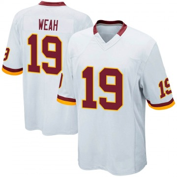 Youth Nike Washington Redskins Jester Weah White Jersey - Game