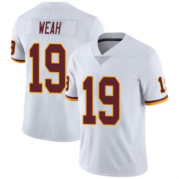 Youth Nike Washington Redskins Jester Weah White Vapor Untouchable Jersey - Limited