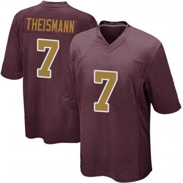 Youth Nike Washington Redskins Joe Theismann Burgundy Alternate Jersey - Game