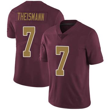 Youth Nike Washington Redskins Joe Theismann Burgundy Alternate Vapor Untouchable Jersey - Limited