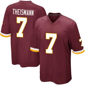 Youth Nike Washington Redskins Joe Theismann Burgundy Team Color Jersey - Game