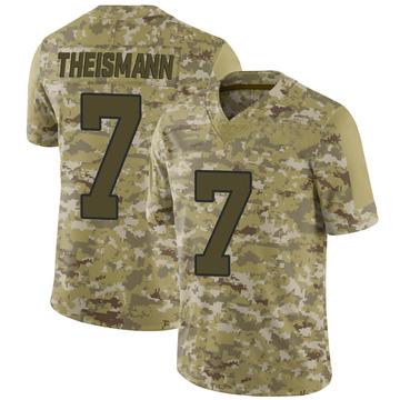 Youth Nike Washington Redskins Joe Theismann Camo 2018 Salute to Service Jersey - Limited