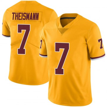 Youth Nike Washington Redskins Joe Theismann Gold Color Rush Jersey - Limited