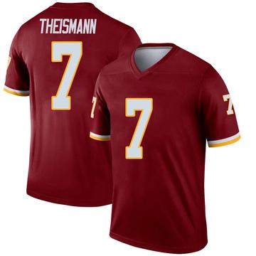 Youth Nike Washington Redskins Joe Theismann Inverted Burgundy Jersey - Legend