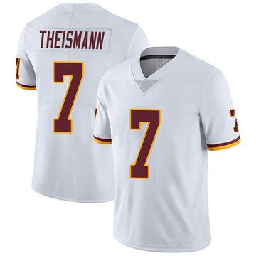 Youth Nike Washington Redskins Joe Theismann White Vapor Untouchable Jersey - Limited