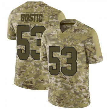 Youth Nike Washington Redskins Jon Bostic Camo 2018 Salute to Service Jersey - Limited