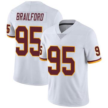 Youth Nike Washington Redskins Jordan Brailford White Vapor Untouchable Jersey - Limited