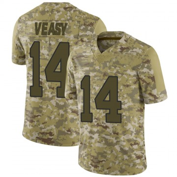 Youth Nike Washington Redskins Jordan Veasy Camo 2018 Salute to Service Jersey - Limited