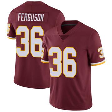 Youth Nike Washington Redskins Josh Ferguson Burgundy 100th Vapor Jersey - Limited