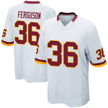 Youth Nike Washington Redskins Josh Ferguson White Jersey - Game