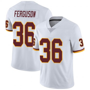 Youth Nike Washington Redskins Josh Ferguson White Vapor Untouchable Jersey - Limited
