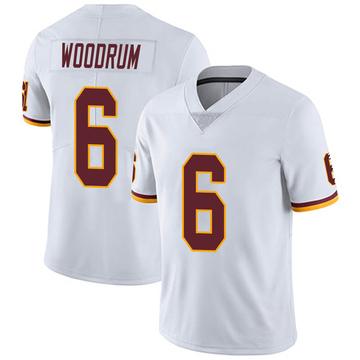 Youth Nike Washington Redskins Josh Woodrum White Vapor Untouchable Jersey - Limited