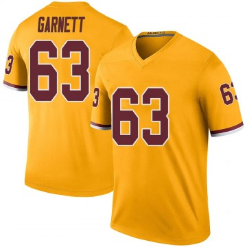 Youth Nike Washington Redskins Joshua Garnett Gold Color Rush Jersey - Legend