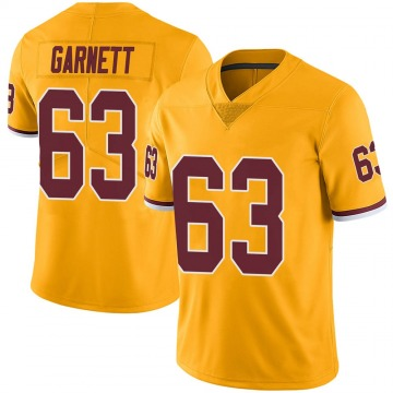 Youth Nike Washington Redskins Joshua Garnett Gold Color Rush Jersey - Limited