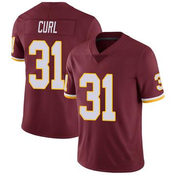 Youth Nike Washington Redskins Kamren Curl Burgundy Team Color Vapor Untouchable Jersey - Limited