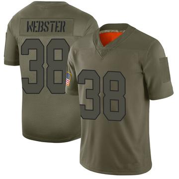 Youth Nike Washington Redskins Kayvon Webster Camo 2019 Salute to Service Jersey - Limited