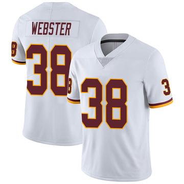 Youth Nike Washington Redskins Kayvon Webster White Vapor Untouchable Jersey - Limited