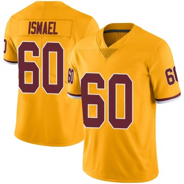 Youth Nike Washington Redskins Keith Ismael Gold Color Rush Jersey - Limited