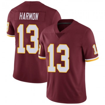 Youth Nike Washington Redskins Kelvin Harmon Burgundy 100th Vapor Jersey - Limited