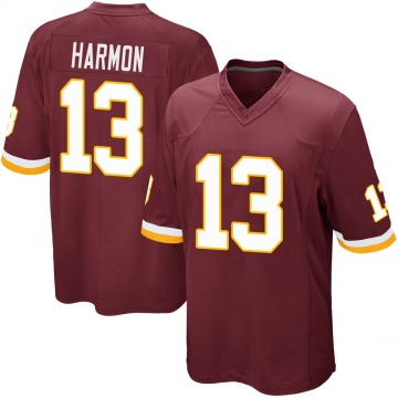 Youth Nike Washington Redskins Kelvin Harmon Burgundy Team Color Jersey - Game