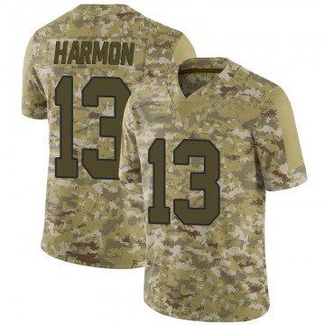 Youth Nike Washington Redskins Kelvin Harmon Camo 2018 Salute to Service Jersey - Limited