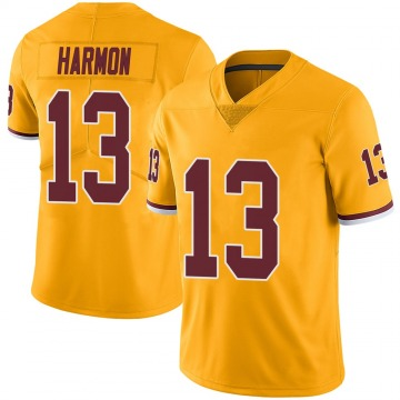 Youth Nike Washington Redskins Kelvin Harmon Gold Color Rush Jersey - Limited