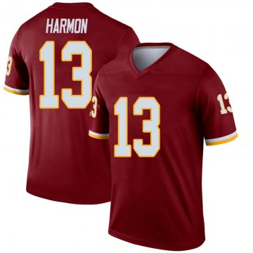 Youth Nike Washington Redskins Kelvin Harmon Inverted Burgundy Jersey - Legend