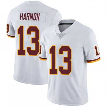 Youth Nike Washington Redskins Kelvin Harmon White Vapor Untouchable Jersey - Limited