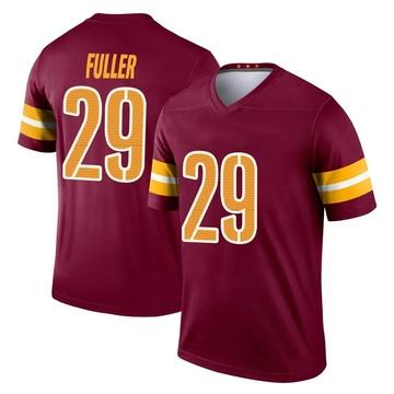 Youth Nike Washington Redskins Kendall Fuller Burgundy Jersey - Legend