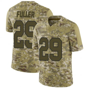 Youth Nike Washington Redskins Kendall Fuller Camo 2018 Salute to Service Jersey - Limited