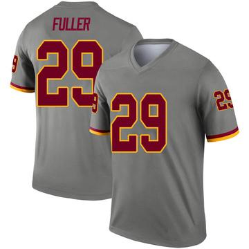 Youth Nike Washington Redskins Kendall Fuller Gray Inverted Jersey - Legend
